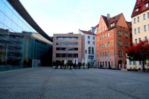 Platz vor dem Neuen Museum, Nürnberg
