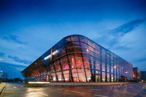 Foto der neuen Halle 3a der Nürnberg Messe