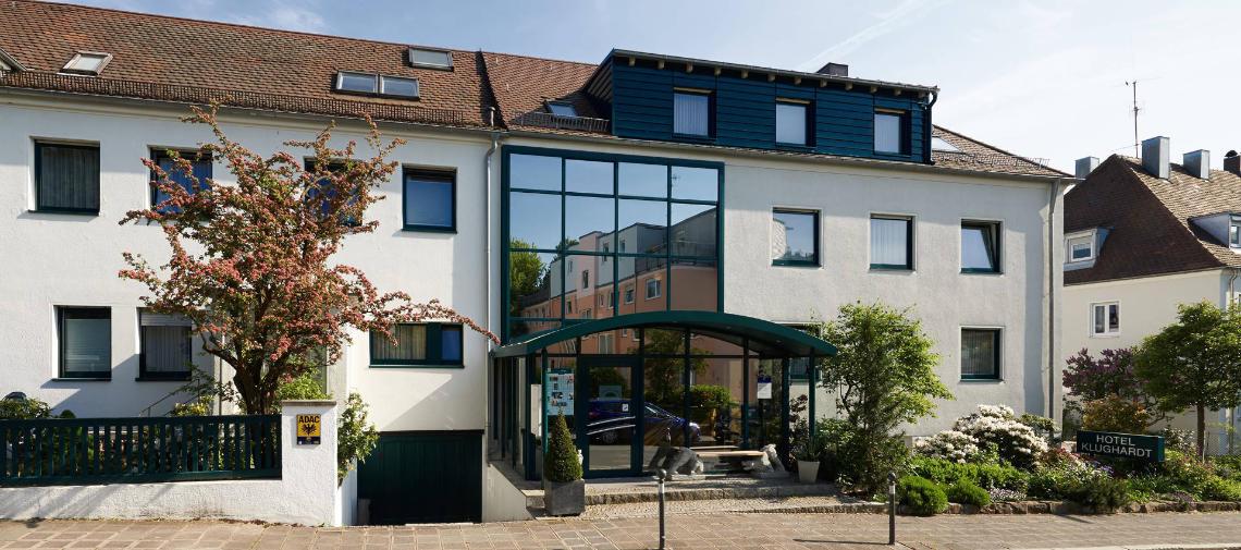 Außenansicht des Hotel Klughardt